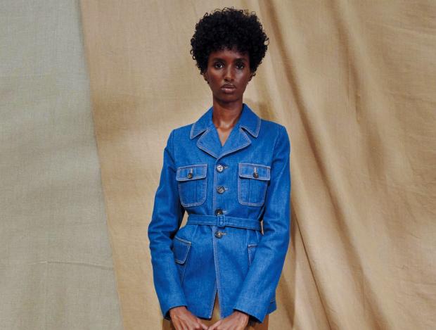 새로운 스타일의 데님 재킷